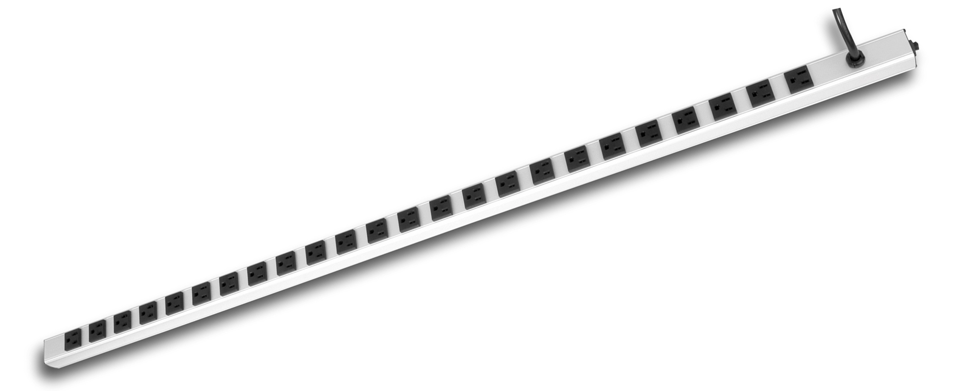 "24-Outlet 48"" Rack Mount Power Strip Power Bar"